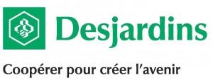 Desjardins - Logo avec slogan